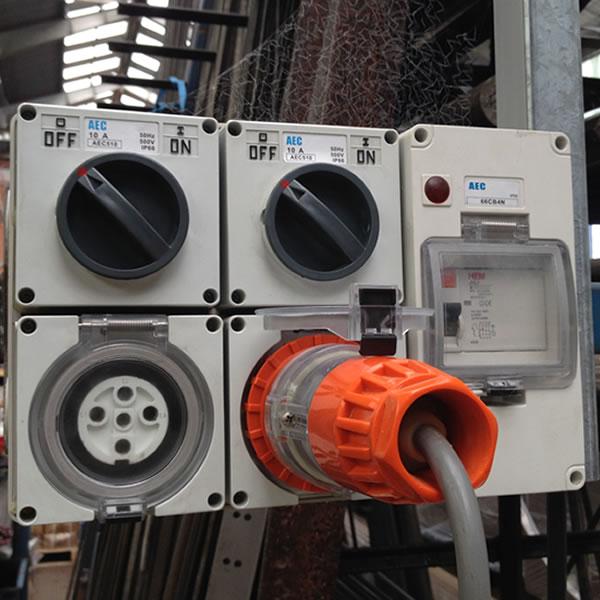 three phase appliance test tag