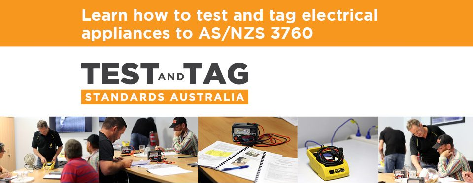 test and tag course