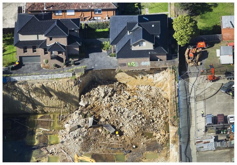 waverley collapse 2015