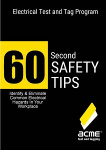 60 second electrical safety tips