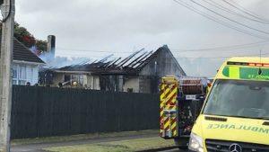 House fire South Taranaki New Zealand